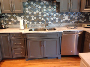 kitchen renovation in Winchester, MA